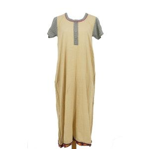 3 for $20- Maybell Boho Indian Tunic Maxi Dress